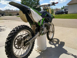 Dirt bike KX250 2 Stroke