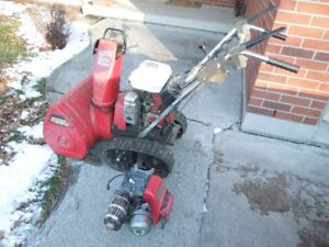 HONDA HS50 Snowblower with Spare Engine