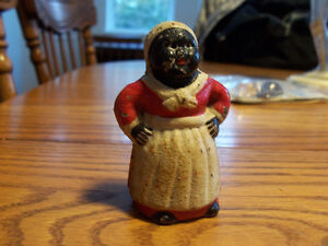 Cast Iron Woman  3 Inches Tall