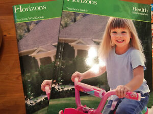 Horizons health curriculum books Windsor Region Ontario image 1