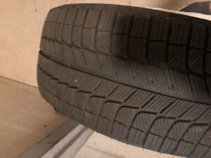 Winter tires. 245/50/R18. Practically new.