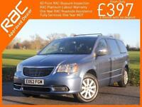 2012 Chrysler Grand Voyager 2.8 CRD Turbo Diesel Limited Ltd 7-Seater MPV 6 Spee