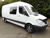 (NO VAT) Mercedes Sprinter 313 LWB Van Manual Diesel. Big spec, no vat, just in.