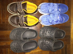 Gently Used Toddler Baby Boy Shoes - Sizes 8, 9, 10
