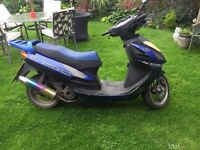 2006 sanben/lexmoto gladiator 200cc registerd as 125cc mot till january 2017