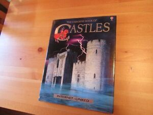 BOOK - THE USBORNE BOOK OF CASTLES - REDUCED!!!!