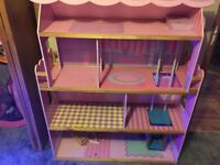 3 storey Barbie house with elevator