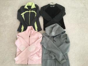 Like new Lululemon define, st moritz sweater, scuba hoodie 4 6