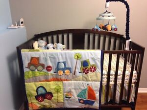 Lambs and Ivy Little Traveler Crib Bedding Set REDUCED St. John's Newfoundland image 2