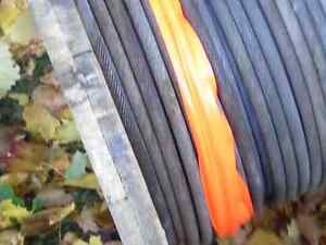 SPOOL OF 3/4 INCH STEEL CABLE, never used. 278 FEET $$ REDUCED Peterborough Peterborough Area image 2