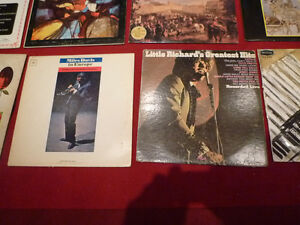 61 records jaz,z classic rock. childrens music, etc