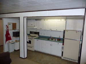 1 Bdr Basement suite downtown - fully furnished & equipped
