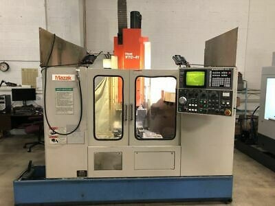 Mazak Vtc-41 Cnc Vertical Machining Center W Mazatrol Eia Controller Mill