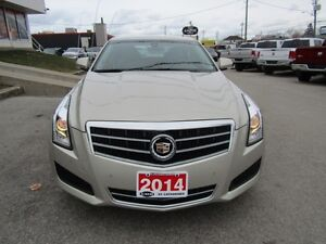 2014 Cadillac ATS 2.0 Turbo Luxury   AWD!  LEATHER!  CAMERA!  RE