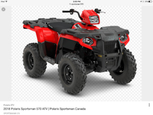 WANTED:POLARIS 570 FRONT CARGO BOX LID