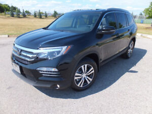 2017 Honda Pilot NEW 121 km EXL-RES (DVD) 8 Leather Seats. SUV