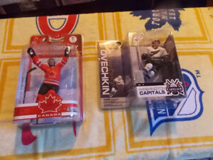 Crosby and Ovechkin  McFarlane Pieces