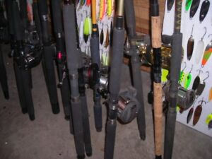 Trolling rods & reel combo's/ Downrigger rods & reels