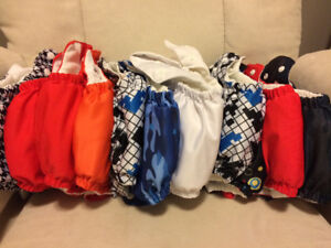 12 Sun Baby Pocket-Style Cloth Diapers