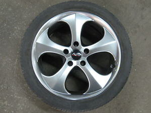 245/40/18 Winter Tires with Alloy wheels