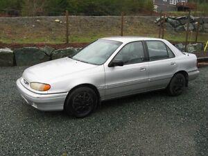 1993 Hyundai Elantra Sedan