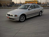 2003 BMW 5-Series , Leather,Sunroof, Low km,  Certified,