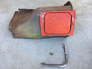 Chevrolet Corvair Gas Filler Door and Assembly