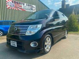 Nissan Elgrand 3.5 V6 Auto Highway-Star, 2007-07-Reg, 56,000 Miles, Twin Sunroof