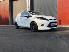 2012 Ford Fiesta 1.6 TDCi 95 Sport Van with style kit upgrade wheels No depos...