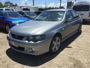 2003 FORD FALCON BA XR6 AUTOMATIC GREY 4D SEDAN Lansvale Liverpool Area Preview
