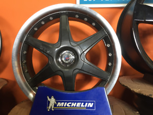 "USED 17"" MSR Alloy Replica Rims 5x112/5x120"
