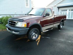 1997 Ford F 150 XL 4 x 4 with 63000 KMS original paint etc