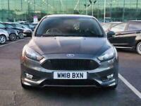 2018 Ford Focus 1.0 E/B 125 ST LINE NAV 5DR APP PACK 2 POWERSHIFT Auto Petrol Au
