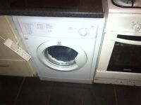 Indesit vented tumble dryer.