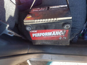 CAR BATTERY-$40 ONLY