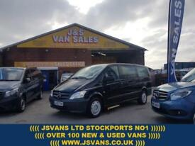 2013 63 MERCEDES-BENZ VITO 2.1 113 CDI TRAVELINER AUTO L.W.B + CHAIR LIFT ( NO