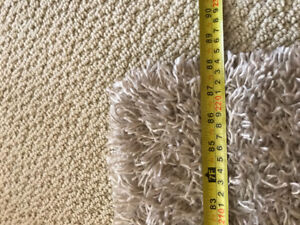 Very nice carpets, see pictures for size