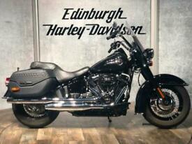 20 HARLEY-DAVIDSON FLSTC SOFTAIL HERITAGE 114 CLASSIC STUNNING LOW MILES