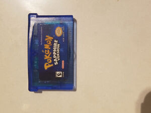 Pokemon Sapphire for GBA