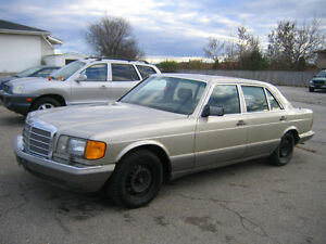 1988 Mercedes-Benz 420SEL Cambridge Kitchener Area image 1