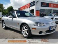 MAZDA MX-5 I, Silver, Manual, Petrol, 2004