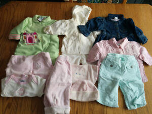 Infant Clothes 3-6mo.