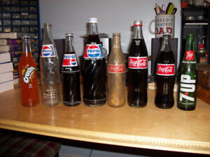 Various Vintage Pop Bottles + MORE