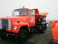1980 Ford 3 Ton Spreader Truck