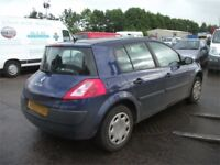 Breaking Renault Megane Dark Blue most parts available