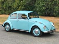 1972 Volkswagen VW Beetle 1200 Classic Manual 2 Door
