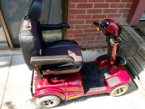 4 Wheel Mobility Scooter (SOLD)