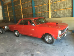 Pontiac acadien canso 1965,chevy 2,nova ss