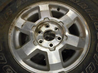ALUMINUM RIMS ONE SET OF 17 INCH 17X7.5-6X140 $500 FOR ALL FOUR