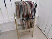 50 Records & record stand